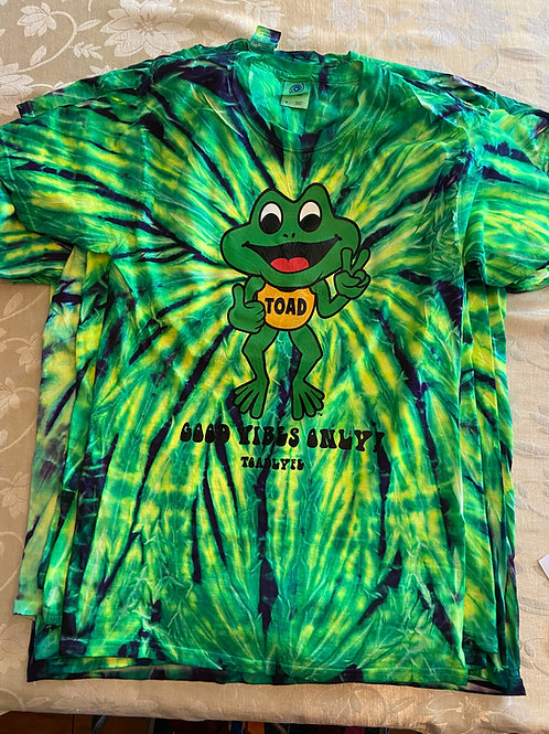 GOOD VIBE SPIDER - TOAD TIE DYE