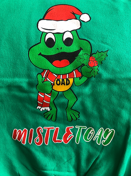 Mistle Toad Christmas Sweater