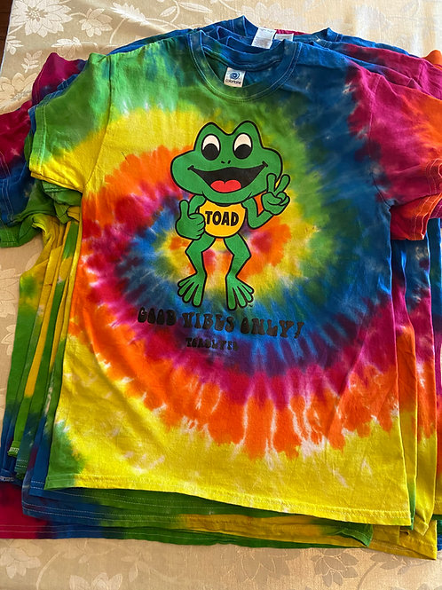 Rainbow Surprise - Toad Tie Dye