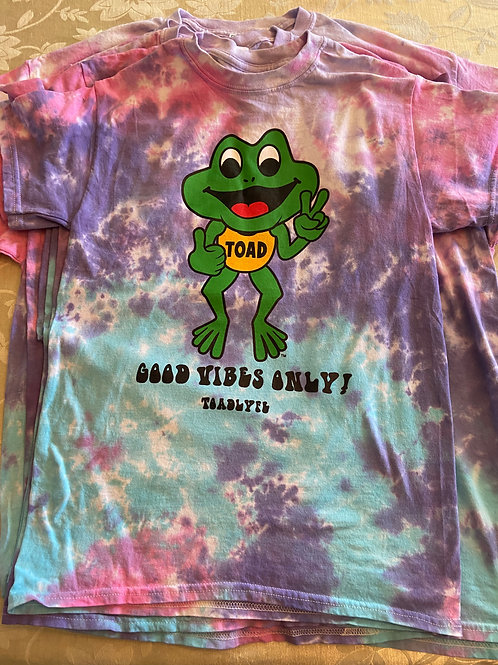 Cotton Candy Ride - Toad Tie Dye