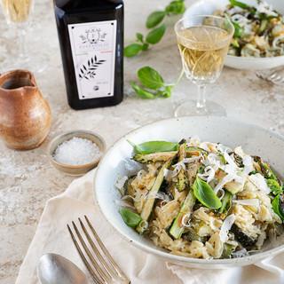 Salade composée avec notre huile