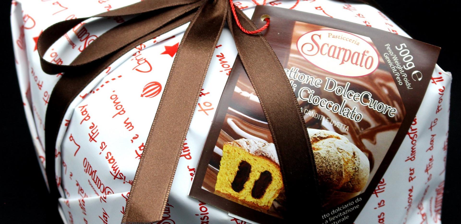 Panettone Coeur au Chocolat