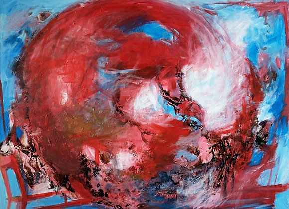 Earth in Red