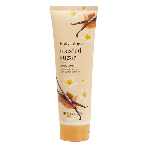 TOASTED SUGAR BODY CREAM, BODYCOLOGY, COD. BODY-024, REF. 2568, 227 g.
