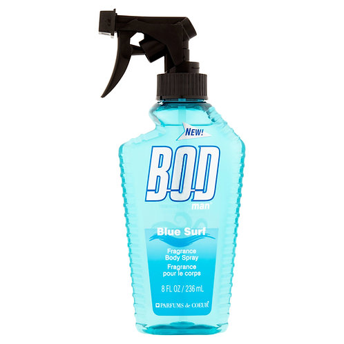 BOD MAN BLUE SURF, BODY FANTASIES, REF. 5523, COD. BM-008,  236 ML.