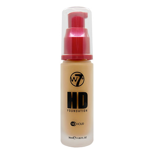 HDF HD FOUNDATION EARLY GOLDEN, W7, REF. W7-774452, COD. W7-074, 30 ML.