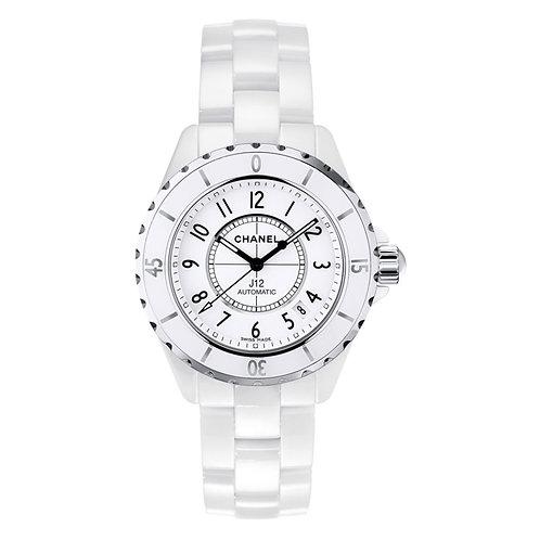 Chanel Reloj de pulsera J12 cerámica blanca CRE-010 REF. H0970