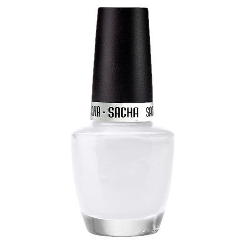 NAIL POLISH FLAT WHITE, SACHA, COD. SAH-111.