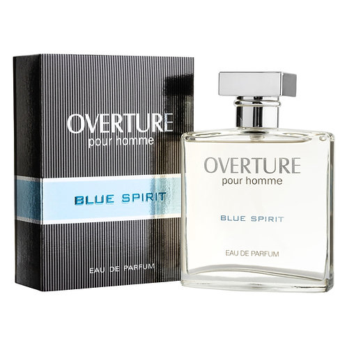 BLUE SPIRIT EDP, OVERTURE, REF. 42102, COD. OVT-015, 100 ML.