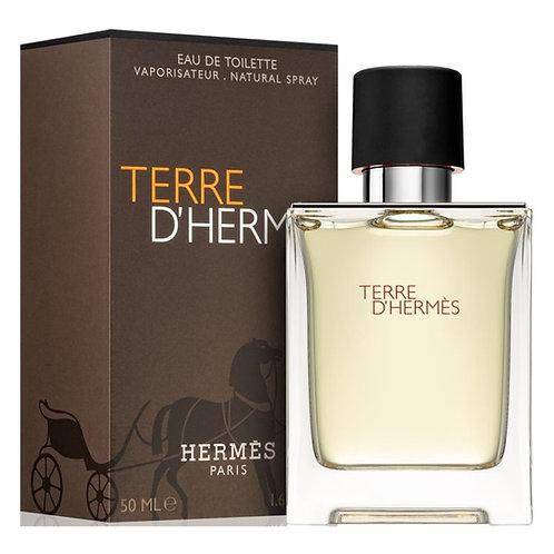 TERRE D'HERMÈS EDT, HERMÈS, REF. 20873, COD. T86-015, 50 ML.
