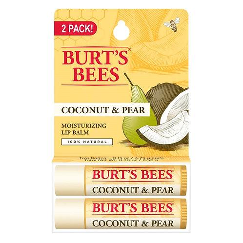 BURT'S BEES LIP BALM COCONUT PEAR PACK X2 COD. BUR-010