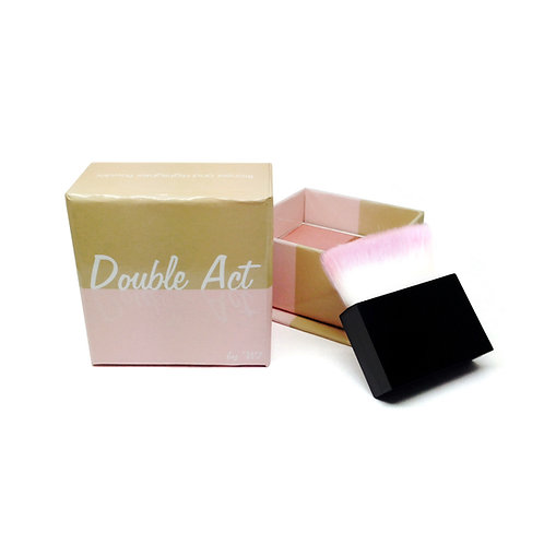DOUBLE ACT BRONZER AND BLUSHER POWER, W7, REF. W7-166326, COD. W7-076.