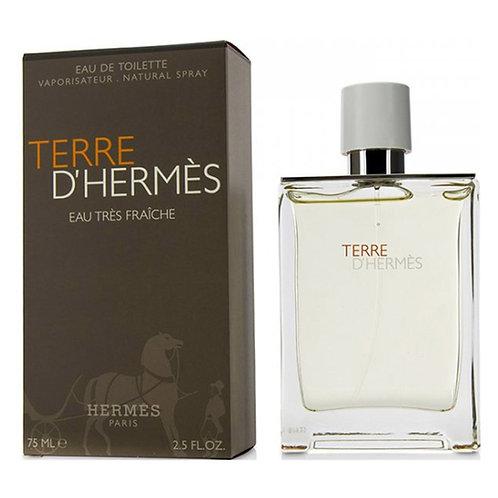 TERRE D'HERMÈS EAU TRÈS FRAÎCHE EDT, HERMÈS, REF. 34656, COD. V105-047, 75 ML.