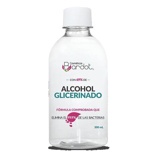 ALCOHOL GLICERINADO ANTIBACTERIAL, BARDOT, REF. 10253, COD. BDT-077.