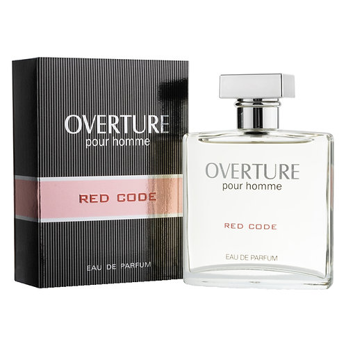 HOMME RED CODE EDP, OVERTURE, REF. 42101, COD. OVT-014, 100 ML.