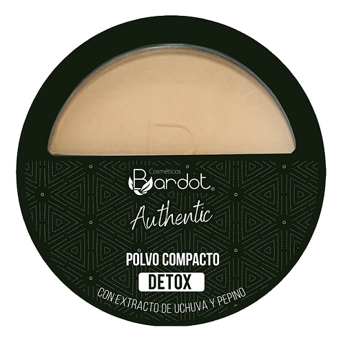 POLVO COMPACTO DETOX #2 AUTHENTIC, BARDOT, REF. 20232, COD. BDT-007.