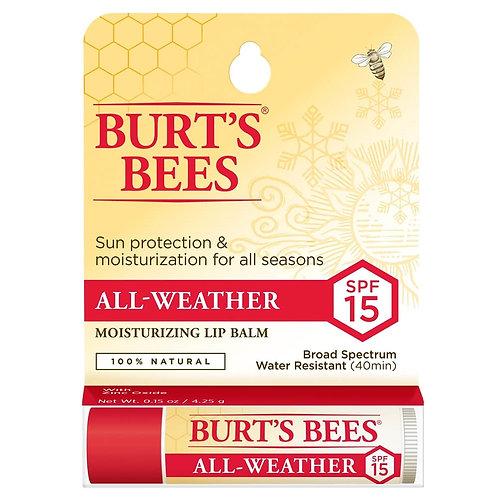 BURT'S BEES BALSAMO LABIAL ALL WEATHER SPF 15 COD. BUR-006