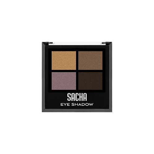 QUAD EYESHADOW METALLIC MEDIUM, SACHA, COD. SAH-143.