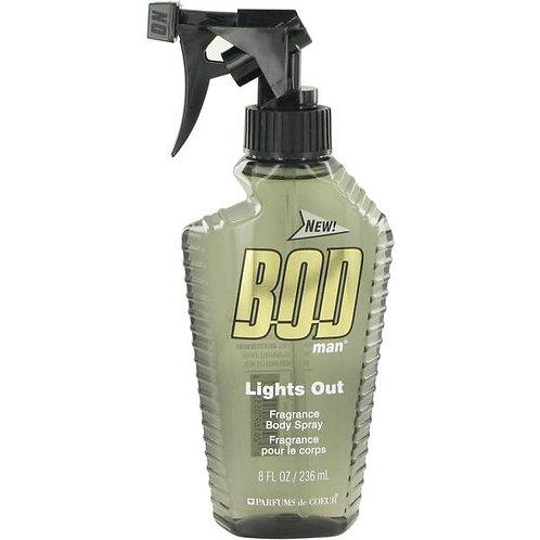 BOD MAN LIGTHS OUT, BODY FANTASIES, REF. 55316, COD. BM-006, 236 ML.