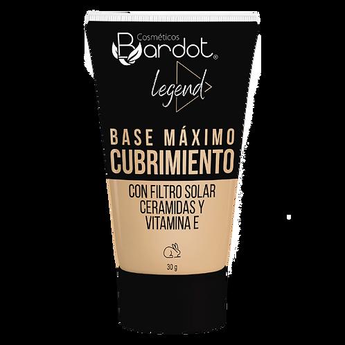 HUMECTANTE MÁXIMO CUBRIMIENTO #1 CAPPUCCINO, BARDOT, REF. 33161, COD. BDT-040.
