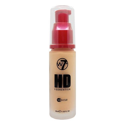 HDF HD FOUNDATION EARLY TAN, W7, REF. W7-143829, COD. W7-005, 30 ML.