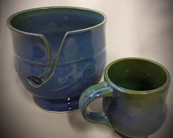 Small mug included $50