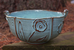 Large Oval Bowl 8.5x7