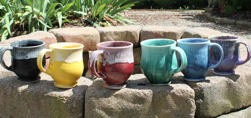Set of mugs