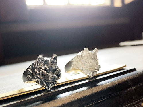 Noble Wolf Ring