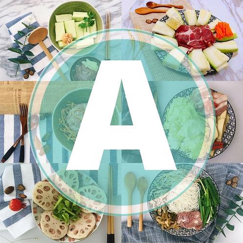 特選6餸A餐(定期更新)(只限1月2-30日送貨)