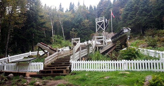 Montagne Noire Crash Site