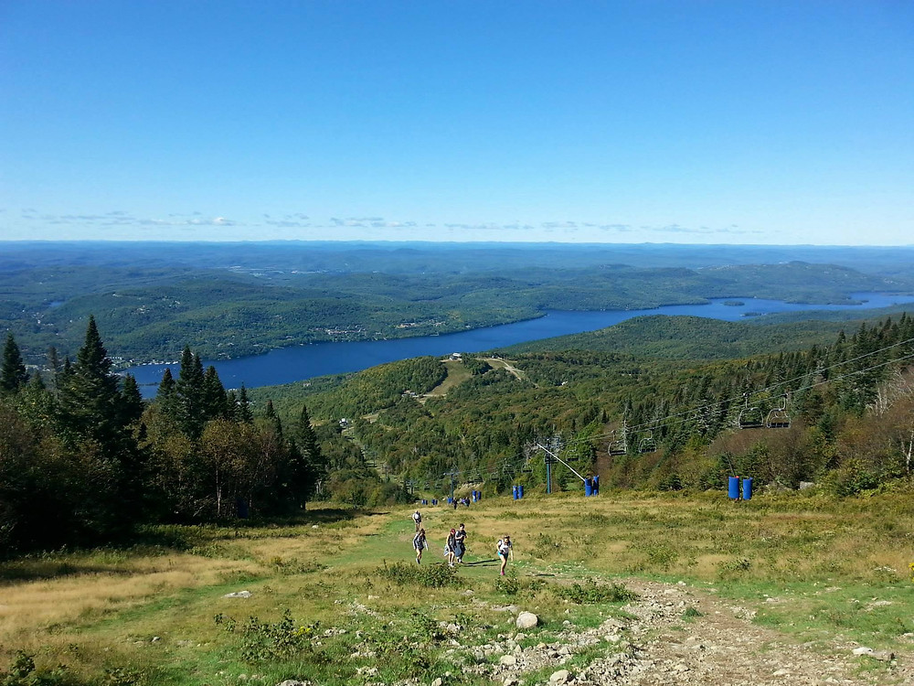Mont Tremblant Ski Hill View Point