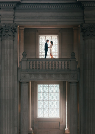 I & B | City Hall Elopement