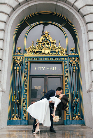 A & M | City Hall Wedding