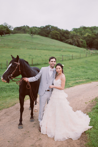 Rustic Ranch Wedding | Ducks, bunnies, horses | Bay Area | San Jose