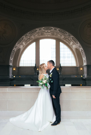 A & A | City Hall Wedding