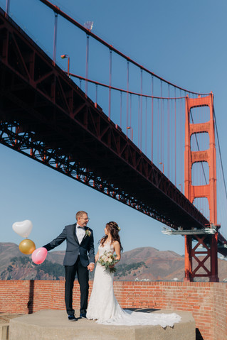 San Francisco City Hall Wedding | A & J | Fort Point