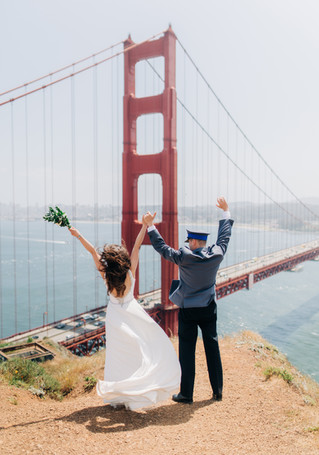 San Francisco City Hall Elopement | K & M | 4 SF locations