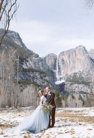Elopement Wedding in Yosemite National Park | Tatsiana & Nikolay