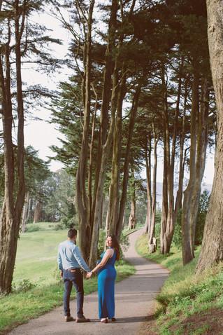Carla & Max   Maternity Photo Shoot in San Francisco   Land's End   Legion of Honor