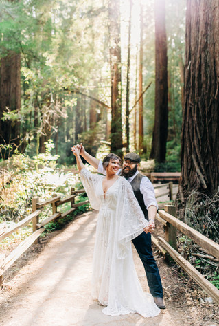 Muir Woods Elopement | D & A