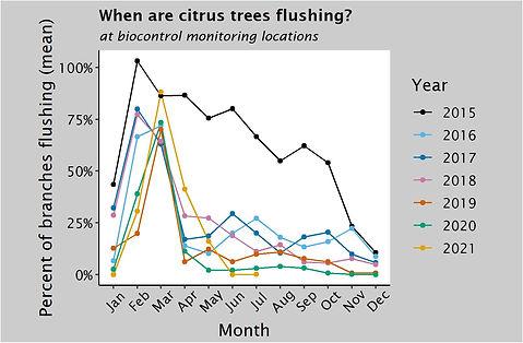 Average flush