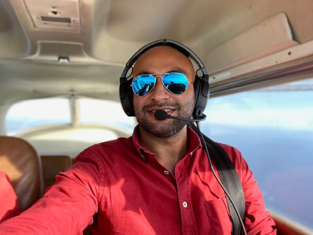 A.Radjabaly : comment combiner médecine et pilotage... Une prochaine étape ?