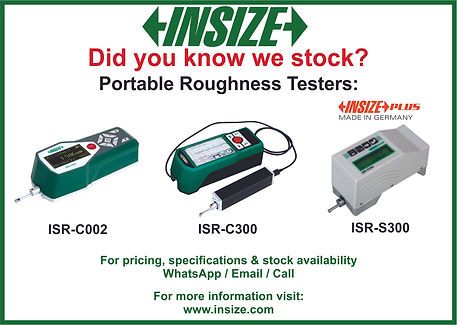 Insize - Roughness testers from stock -