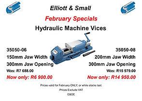 Feb Special 1 - Hydraulic Machine Vices.