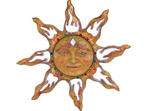 Mosaic Sun Face