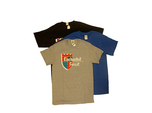 Youth Enchanted Forest Shield T-shirt