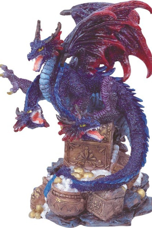 Purple 3 Headed Dragon