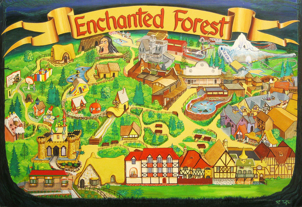 Enchanted Forest Park map