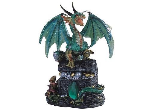 Green Dragon w/Treasure